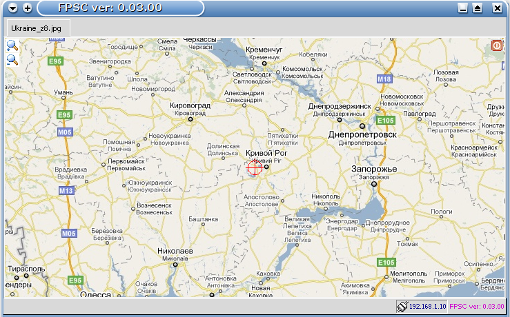 FPS система GPS мониторинга screenshot
